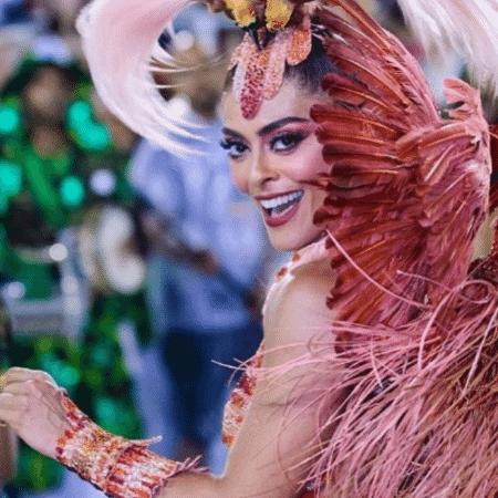 Juliana Paes deixa o posto de rainha de bateria da Grande Rio após dois anos - Reprodução/Instagram