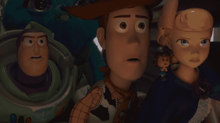 """Cena do teaser de """"Toy Story 4"""" - Reprodução/YouTube"""