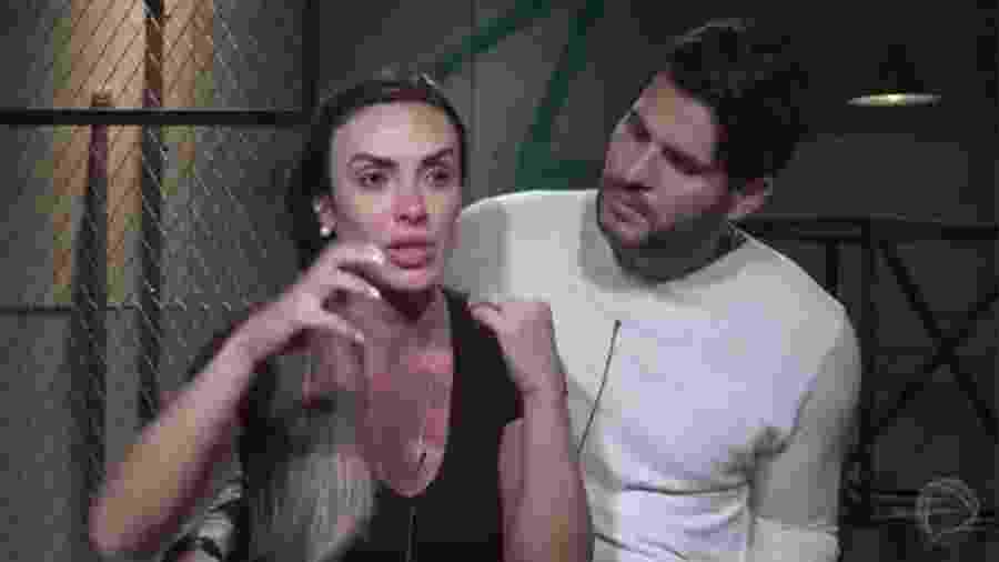 """Nicole Bahls e Marcelo Bimbi, vencedores do último """"Power Couple"""" - Reprodução/Record"""