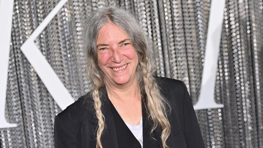 A cantora Patti Smith - Angela Weiss / AFP