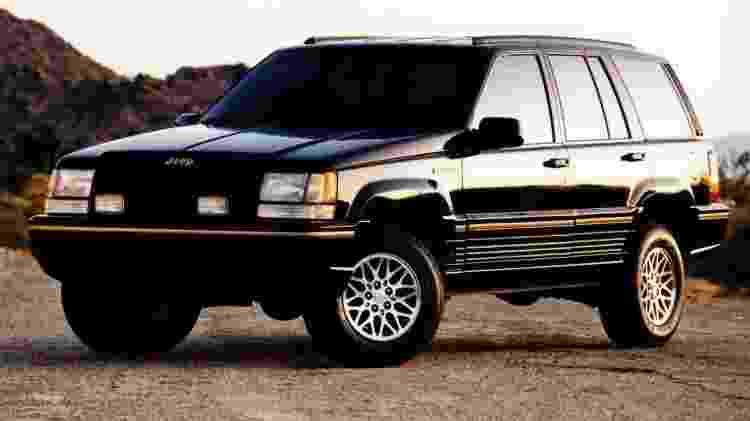 Grand Cherokee foi um dos ícones entre os importados dos anos 90 - Divulgação