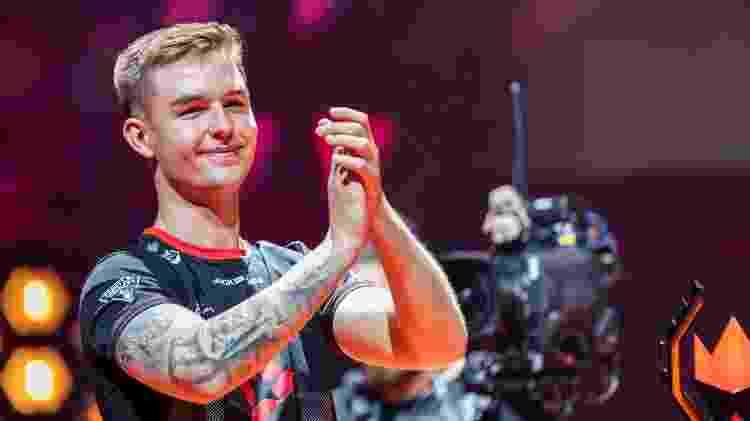 """Nicolai """"dev1ce"""" foi eleito MVP da StarLadder Berlin Major 2019.  - Divulgação/HLTV"""