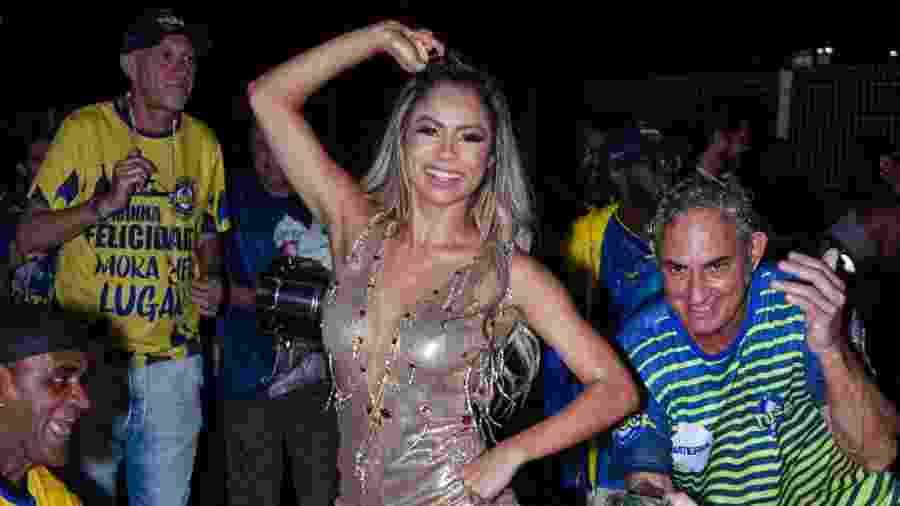 Cantora Lexa fará sua estreia como rainha de bateria no Grupo Especial pela Tijuca - PAULO TAUIL/BRAZIL NEWS