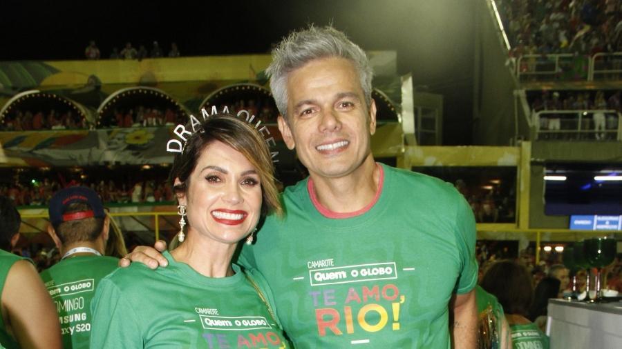 Flávia Alessandra e Otaviano Costa - Graça Paes/AgNews