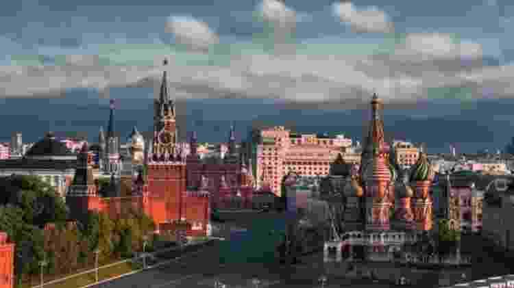 Moscou, na Rússia - Reprodução - Reprodução