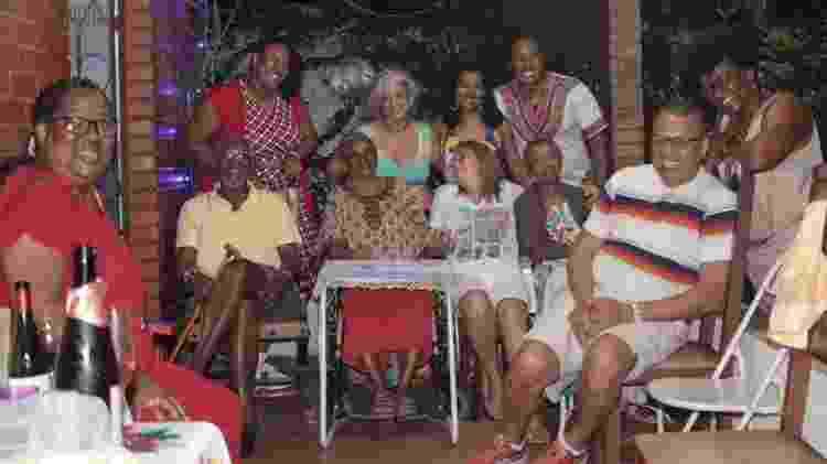 A família de Chica e Kelé reunida - Arquivo Pessoal - Arquivo Pessoal