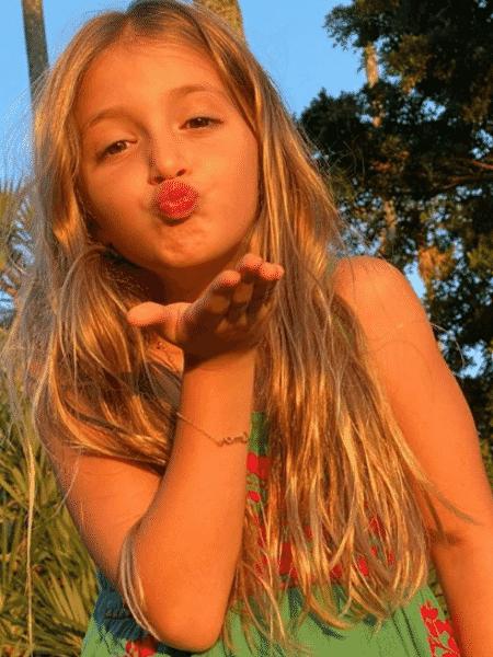 Angélica postou série de fotos de Eva para comemorar aniversário da caçula - Reprodução/Instagram/@angelicasky