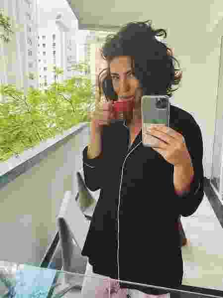 A atriz está redecorando seu apartamento em São Paulo - Reprodução/Instagram @fepaesleme
