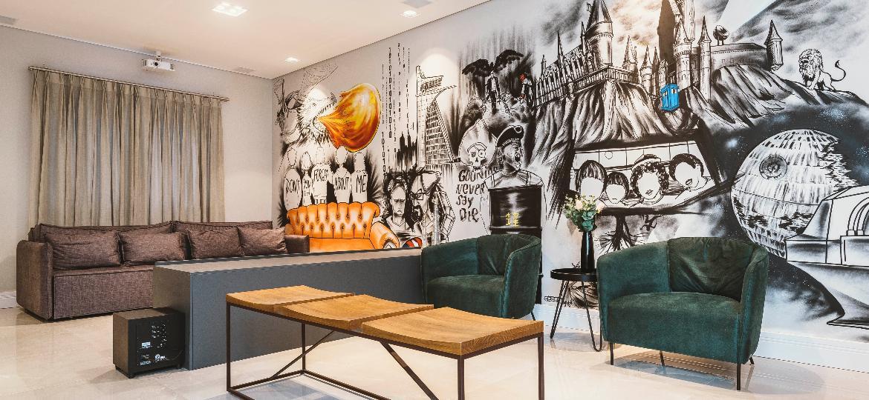 Grafite dentro de casa - Henrique Ribeiro
