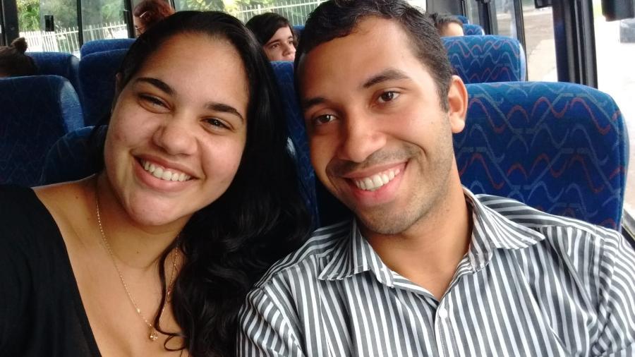 Mayara Regina e Gilberto Nogueiro: amigos de trabalho - Reprodução/Instagram