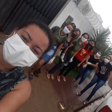 coletivo de mulheres Brazilinas ajuda vitimas de violencia domestica - arquivo pessoal