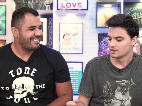 Bruno Correa e Felipe Neto são queridos no YouTube