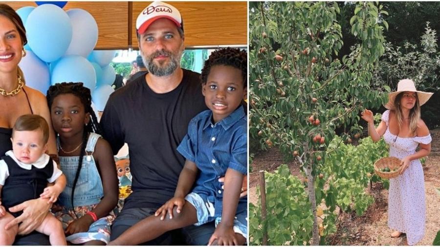 Giovanna Ewbank mudou com os filhos para Portugal para ficarem próximos de Gagliasso - Reprodução: Instagram