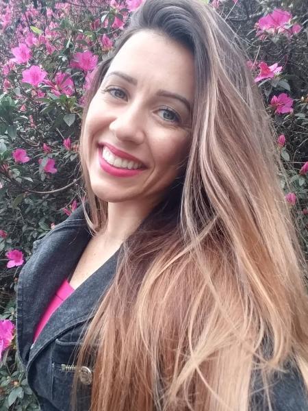 A terapeuta Juliana Rodrigues (28) relata ter ficado dependente do uso de vibrador durante 3 anos  - Arquivo pessoal