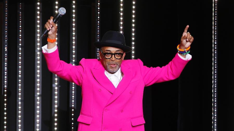 Spike Lee durante cerimônia de abertura do Festival de Cinema de Cannes - REUTERS
