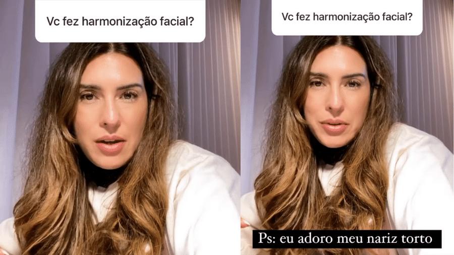 Fernanda Paes Leme negou ter feito harmonização facial, mas assumiu ser adepta do botox - Reprodução/Instagram