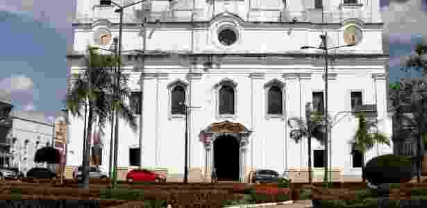 É da Igreja da Sé (Catedral de Belém) que sai a procissão do Círio de Nazaré - Eduardo Vessoni/UOL