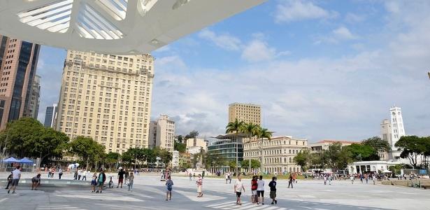Nova Praça Mauá, na zona portuária do Rio de Janeiro - Alexandre Macieira/Riotur