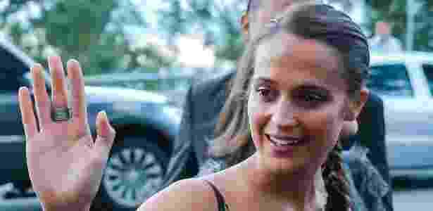 Alicia Vikander substituirá Angelina Jolie e será a nova Lara Croft nos cinemas - Manuela Scarpa/Brazil News