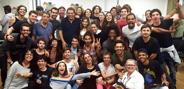 """Elenco de """"Rock Story"""", próxima novela das sete da Globo, se reúne pela primeira vez - Reprodução/Instagram/maiconrodrigues10"""