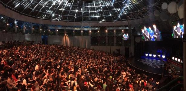 Torcedores brasileiros lotaram a Ópera de Arame para acompanhar o IWCQ 2016 - Rodrigo Guerra/UOL