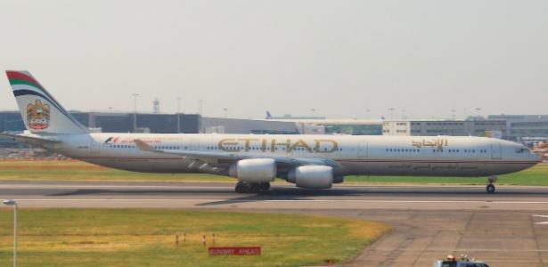A Etihad cancelará as operações entre Abu Dhabi e SP em 26 de março de 2017 - Aero Icarus/Creative Commons