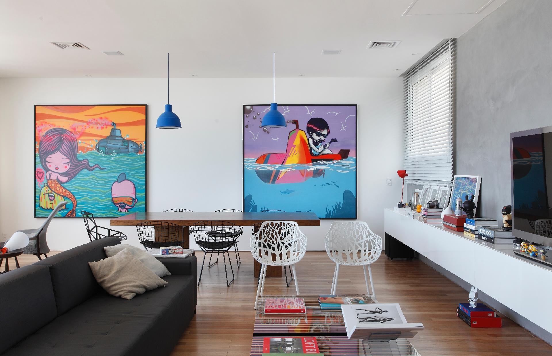 Salas de jantar ideias para decorar o ambiente bol for Mesa escritorio moderna