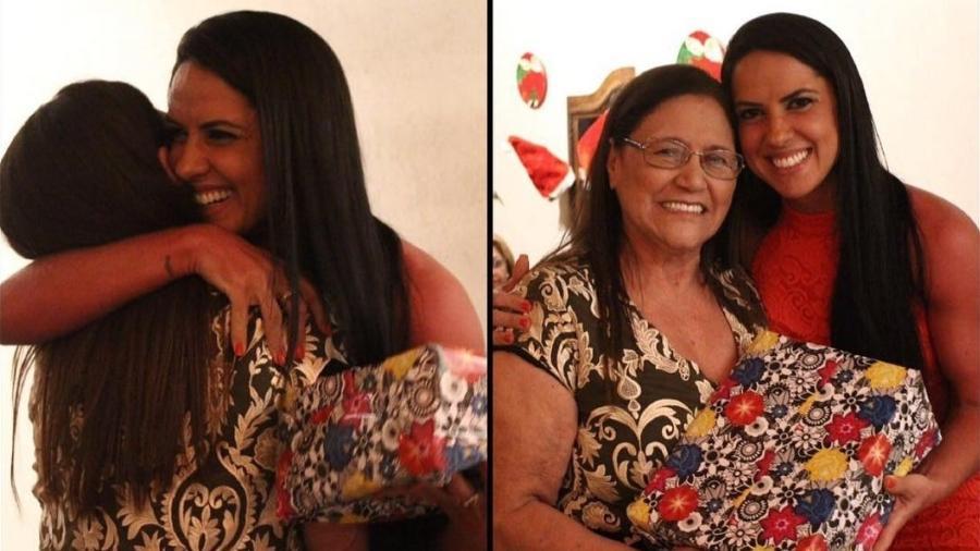 Graciele Lacerda com a sogra, Helena Camargo, no primeiro Natal ao lado da família de Zezé - Reprodução/Instagram/gracielelacerdaoficial
