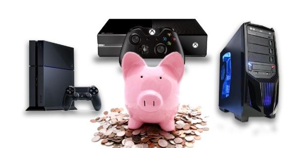 Seja no console ou no PC, é possível economizar e sempre ter algo novo para jogar