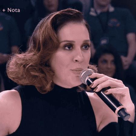 Claudia Raia explica suposta saia justa com Eriberto Leão - Reprodução/TV Globo