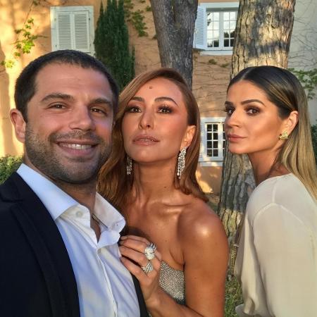 Duda Nagle, Sabrina Sato e Thassia Naves prontos para o jantar de gala do Leonardo DiCaprio Foundation - Reprodução/Instagram