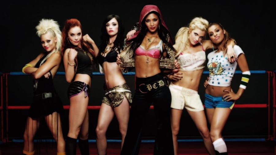 A girl band Pussycat Dolls  - Divulgação