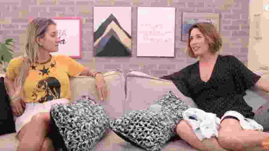 Gabriela Pugliesi entrevista Gisele Itiê - Reprodução/YouTube