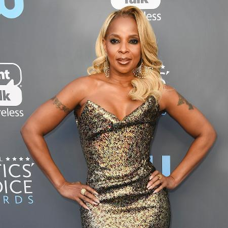 """Mary J. Blige no Critics"""" Choice Awards - Getty Images"""