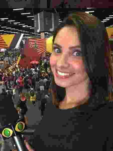 A apresentadora e repórter esportiva Kalinka Schutel - Reprodução / Instagram