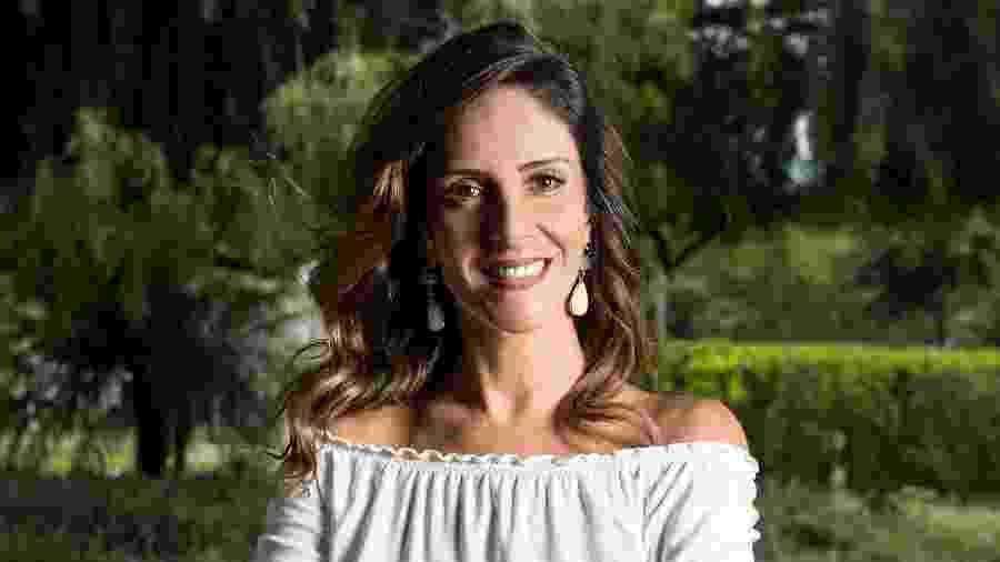 A jornalista Monalisa Perrone - Ramon Vasconcelos/Rede Globo