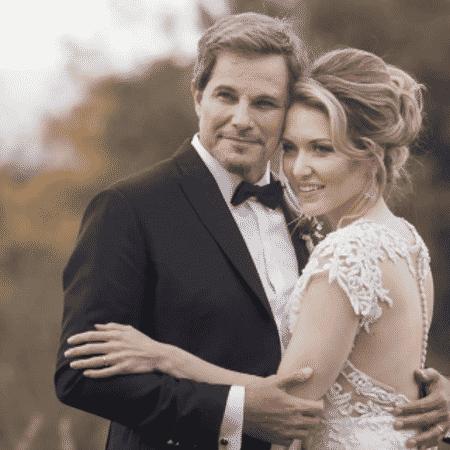 Edson Celulari e a mulher, Karin Roepke - Reprodução/Instagram/karinroepke