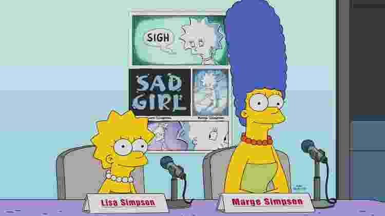 """Lisa e Marge em cena da 29ª temporada de """"Os Simpsons"""" - Divulgação - Divulgação"""