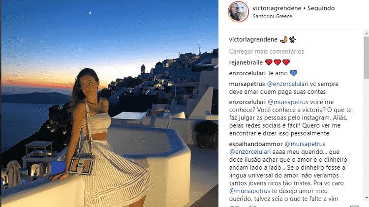 Enzo Celulari discute com seguidor - Reprodução/Instagram - Reprodução/Instagram