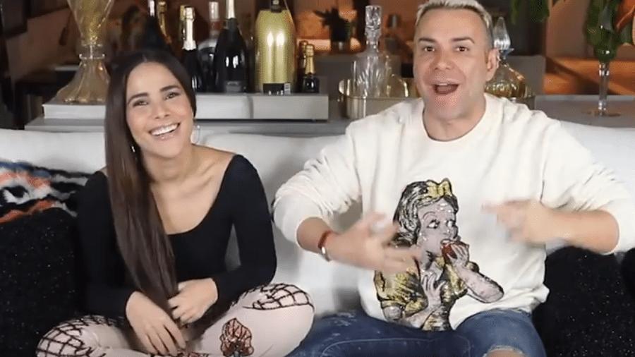 Wanessa é entrevistada por Matheus Mazzafera - Reprodução/YouTube
