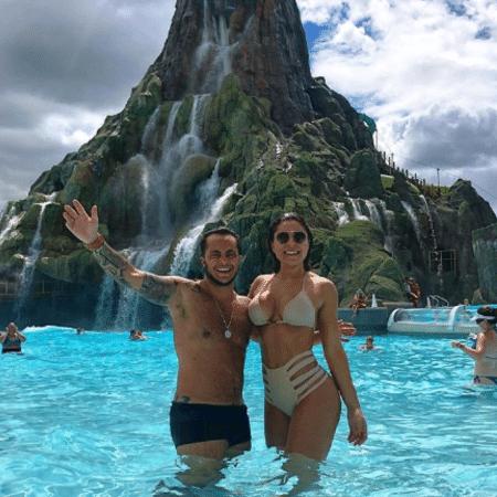 Thammy Miranda e Andressa Ferreira curtem férias em Orlando, nos Estados Unidos - Reprodução/Instagram