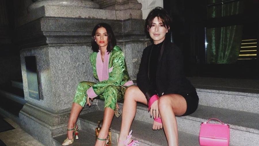 Bruna Marquezine e Fernanda Paes Leme na Itália - Reprodução/Instagram