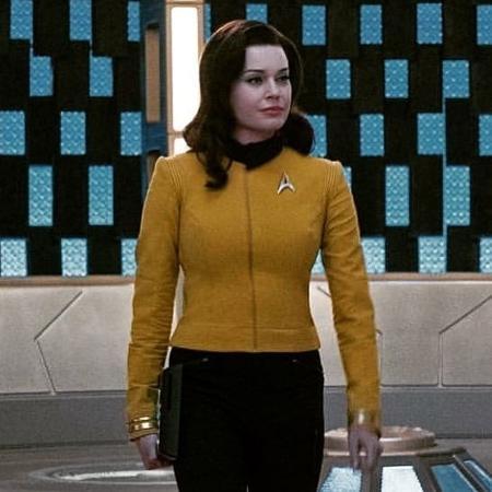 """Rebecca Romijn é a Número Um em """"Star Trek: Discovery"""" - Reprodução/Instagram"""