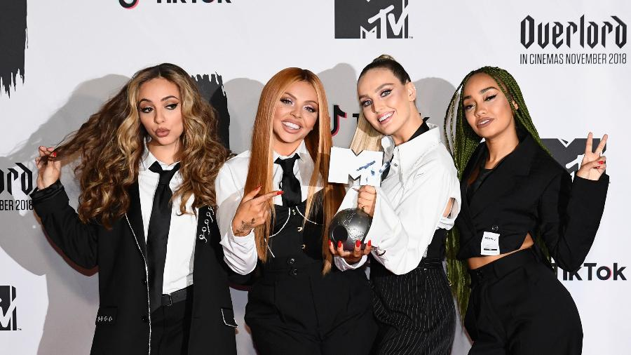 Integrantes da banda Little Mix em Barcelona, na Espanha - Getty Images