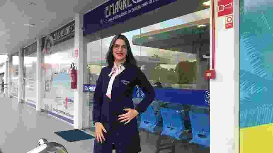 Sanauá Morais Peixoto, 26, é dona de uma rede de clínicas de estética - Arquivo Pessoal
