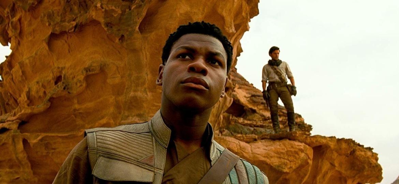 John Boyega como Finn em cena de Star Wars - A Ascensão Skywalker - Divulgação