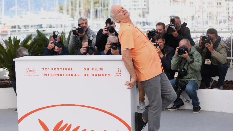 """Bill Murray participa da exibição do filme """"The Dead Don""""t Die"""" no festival de Cannes, na França - Xinhua/Gao Jing"""
