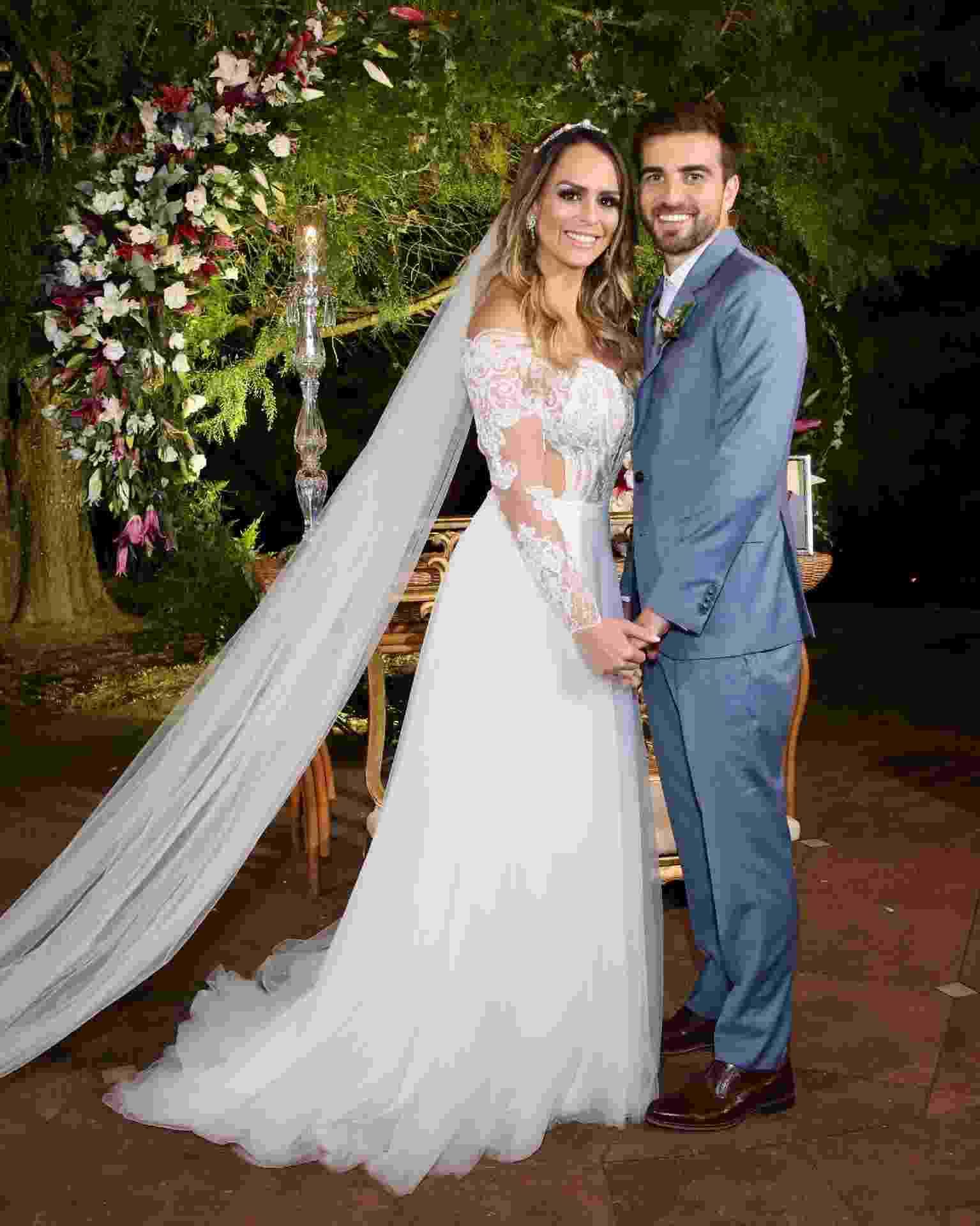 Aline Lima se casa no interior de São Paulo - Manuela Scarpa/Brazil News