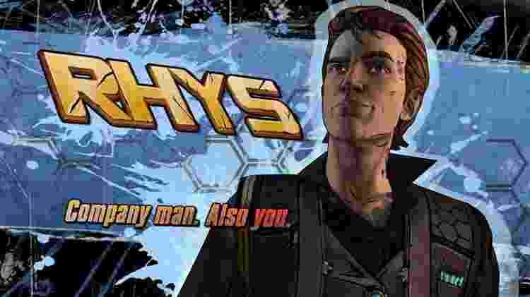 """Rhys ganha importância em """"Borderlands 3"""" - Reprodução"""