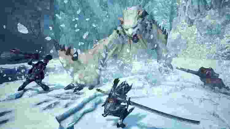 """Prepare suas melhores armas e armaduras, porque a casca é grossa em """"Iceborne"""" - Reprodução"""